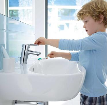 When selecting a faucet, it is important to consider, who will be using it.