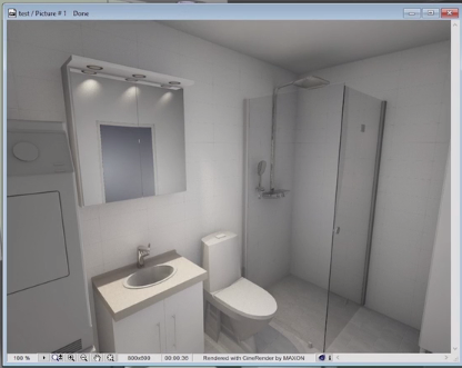 With BIM data you can visualize the planned space