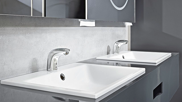 Touchless faucets with precise sensors and conservative afterflow settings can provide optimal water savings
