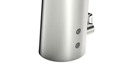 La tecnología patentada PSD (detector sensible a la posición) en el sensor asegura que el grifo responda exactamente al movimiento de su mano.