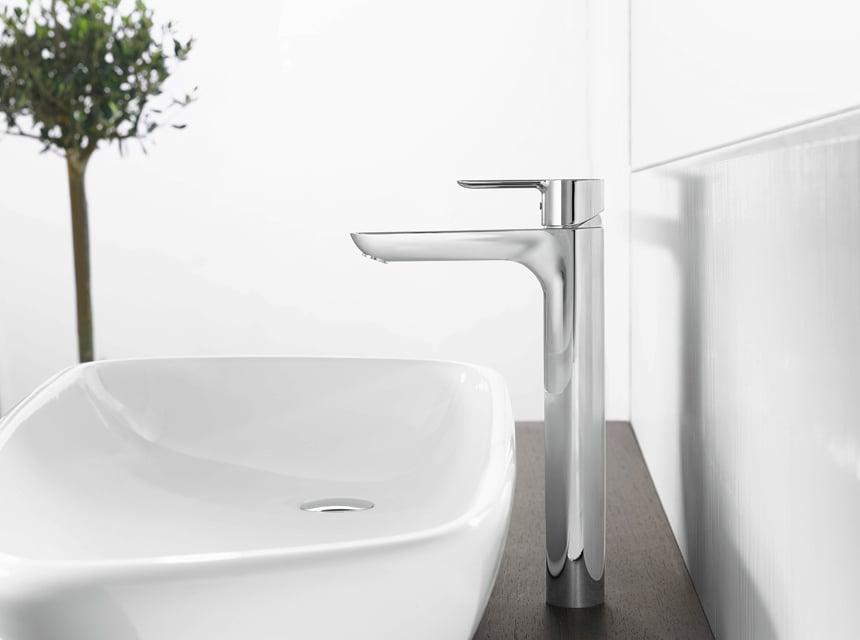 Robinet de lavabo design HANSALIGNA