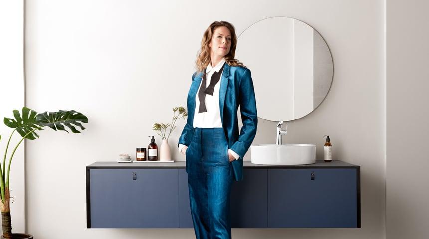 Bereit in jeder Lebensphase: die designstarke HANSADESIGNO STYLE Serie. Foto: Hansa Armaturen GmbH