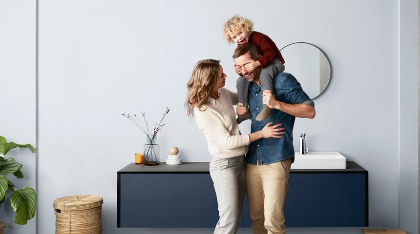 Bereit für ein smarteres Leben: Berührungslose Armaturen von HANSA machen den Alltag hygienischer, sicherer und komfortabler. Foto: Hansa Armaturen GmbH
