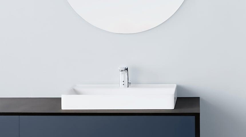 Technologie Intelligente Bluetooth® : les robinetteries sans contact HANSA rendent le quotidien plus sûr, confortable et durable. Photo: Hansa Armaturen GmbH