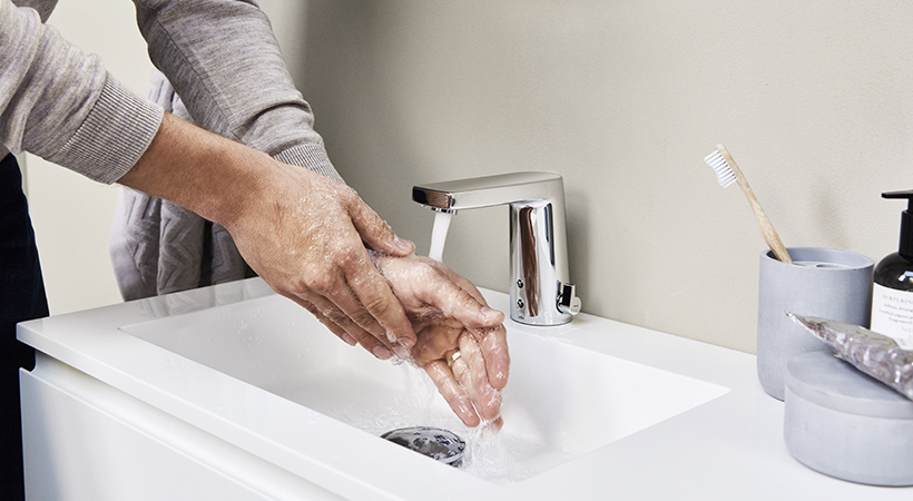 Touchless faucets prevent efficiently the spread of bacteria.