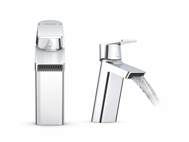 New HANSASTELA washbasin faucet