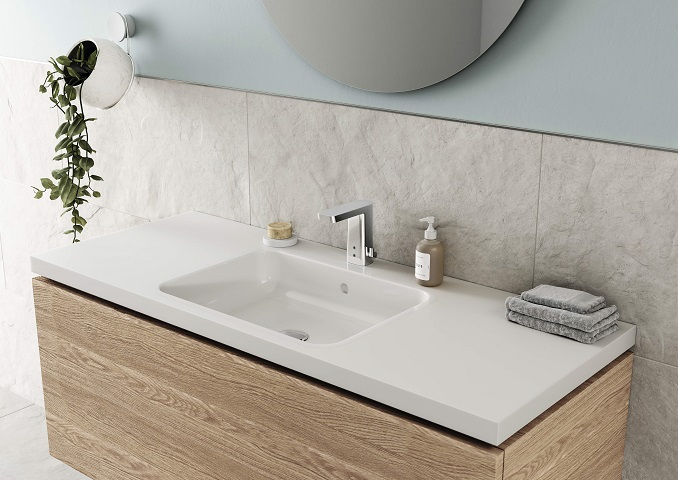 HANSASTELA touchless washbasin faucet