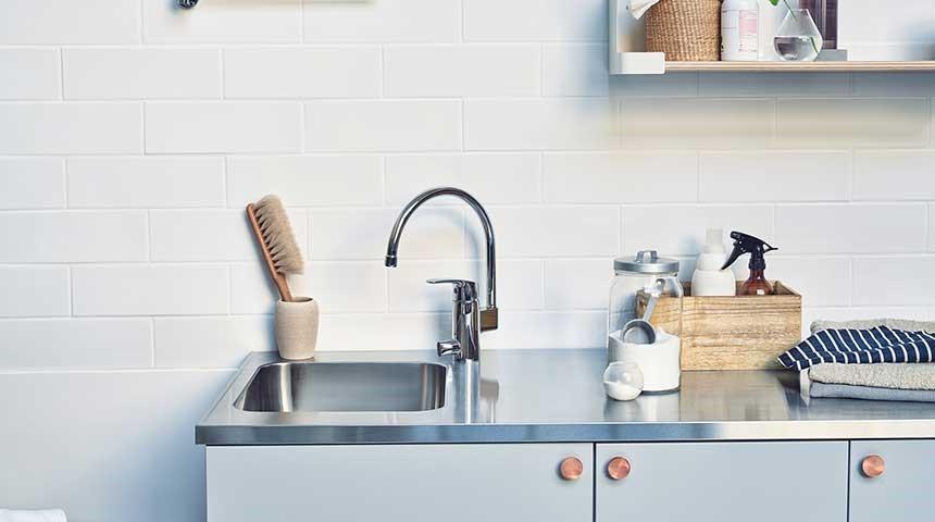 Bij de keuze van een kraan voor de keuken of badkamer moet u rekening houden met het feit of er een aansluiting voor de vaatwasser nodig is.