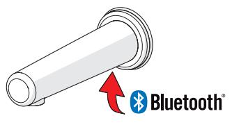 HANSAELECTRA – Grifería mural sin contacto disponible ahora con conexión Bluetooth®
