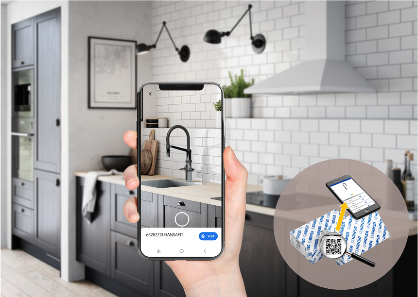 HANSA presents new 3D platform: Interactive 3D product views enable smart planning & installation of faucets