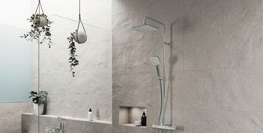 HANSAMICRA STYLE - The perfect shower for all homes, for all budgets